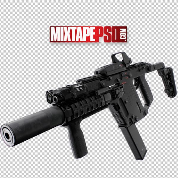 Automatic Machine Gun Cut PNG