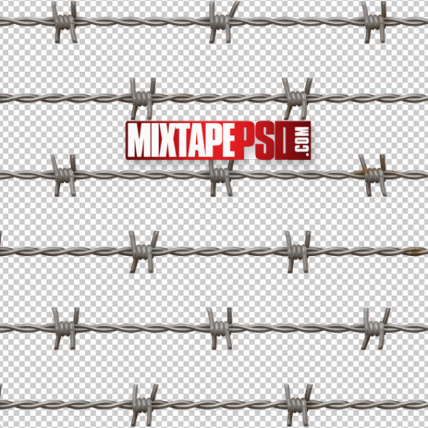 Barbwire Cut PNG 2