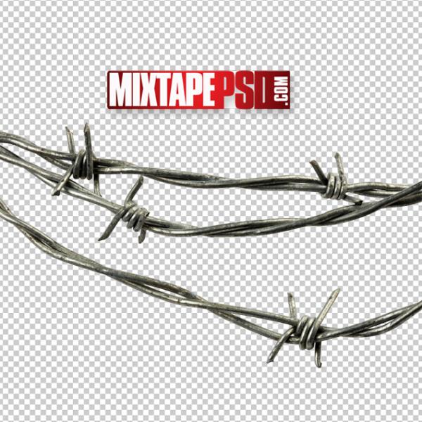 Barbwire 4 Cut PNG