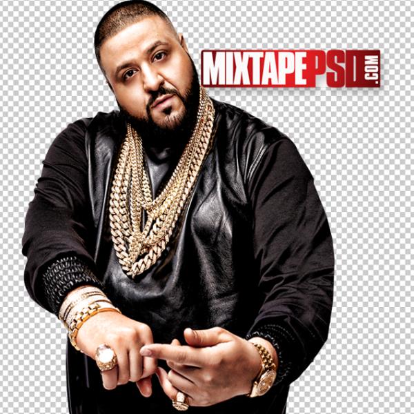 DJ Khaled Cut PNG 3