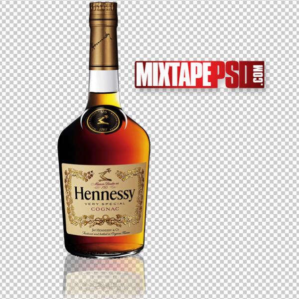 Hennessy Bottle PNG 4