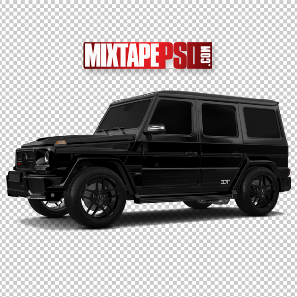 Black Out Mercedes Truck