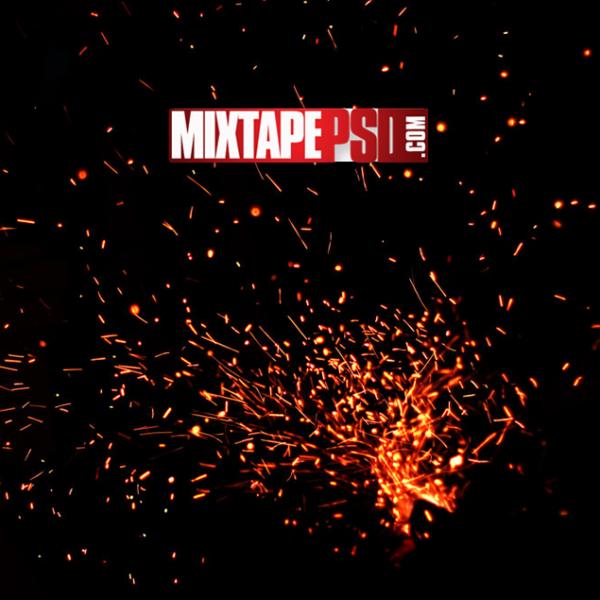 Campfire Sparks Background 2