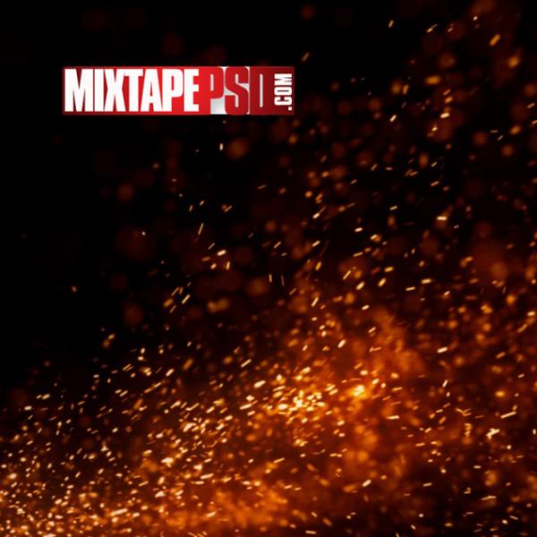 Campfire Sparks Background 3