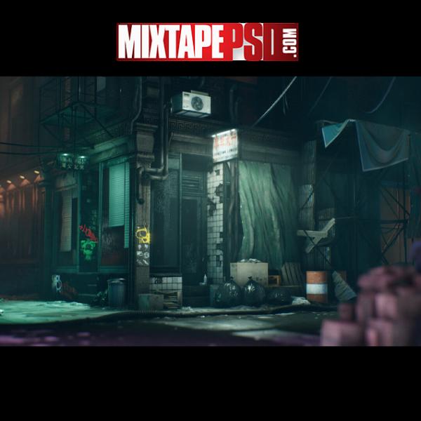 Chinatown Alley Wallpaper Background 5