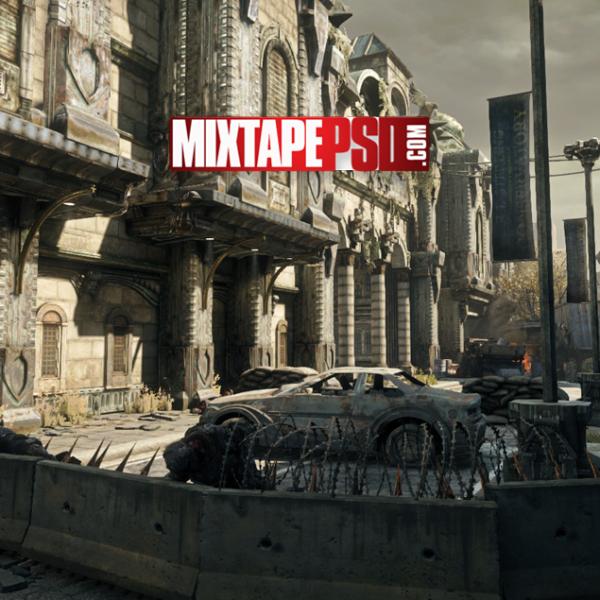 Gears of War Riverwalk Background 3