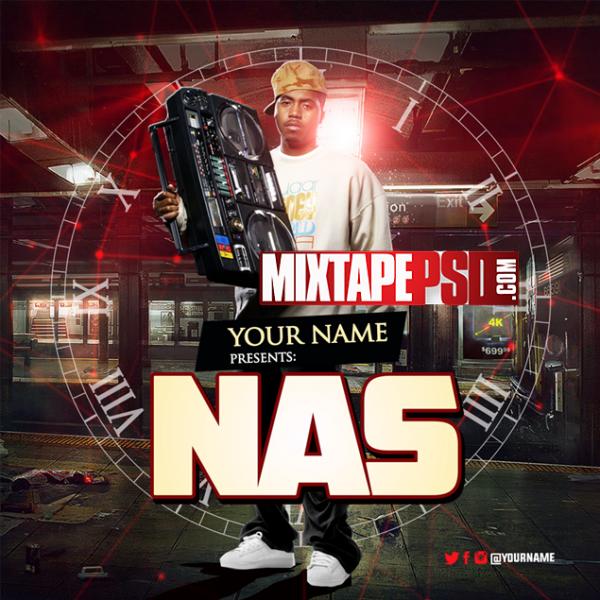 Mixtape Cover Template NAS