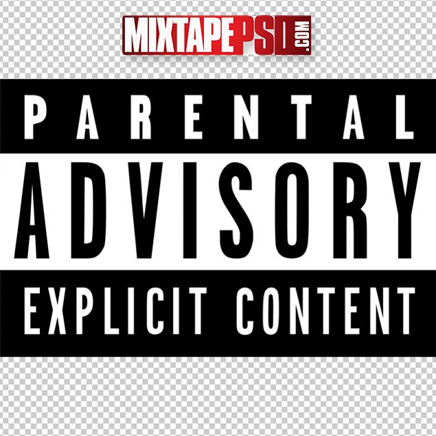 Parental Advisory Logo - MIXTAPEPSDS.COM
