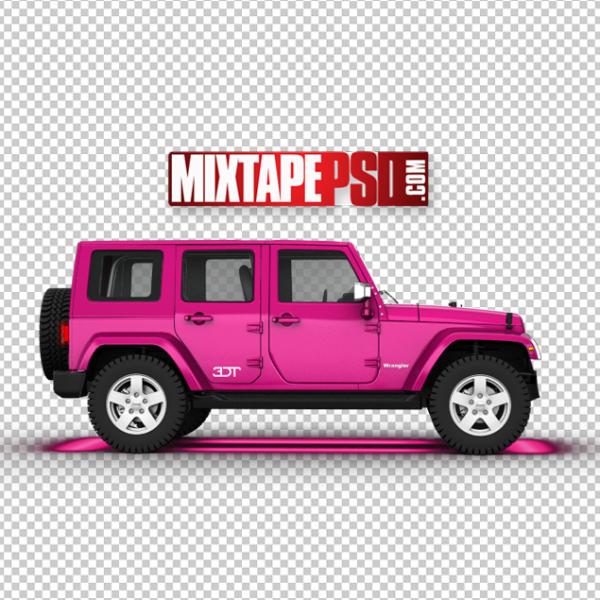 Pink Wrangler Jeep