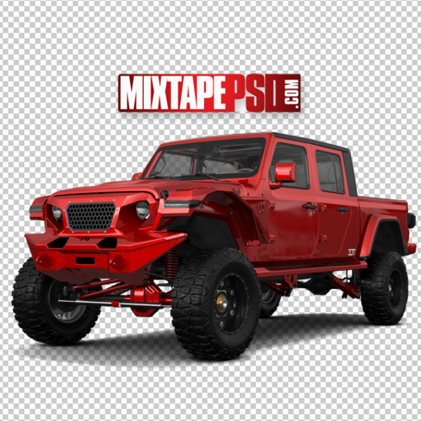 Red Off Road Truck