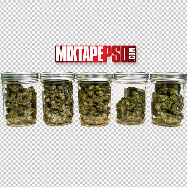 Marijuana Jars PNG