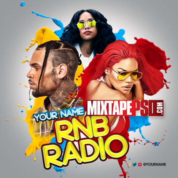 Mixtape Cover Template RNB Radio 46