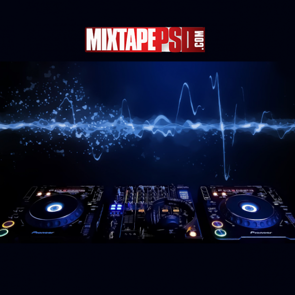 DJ Console Background