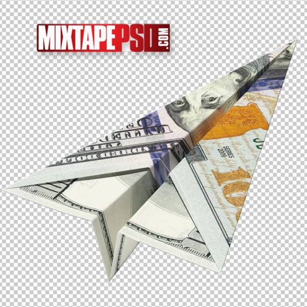 HD 100 Dollar Money Paper Plane