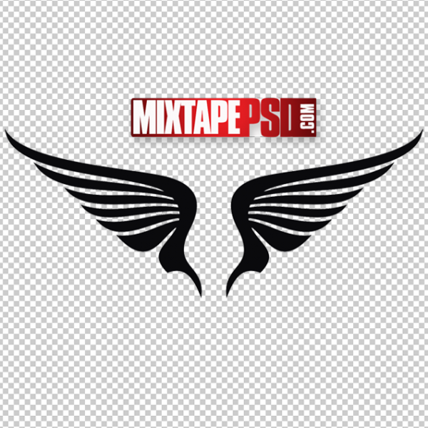 Vector Angel Wings Logo