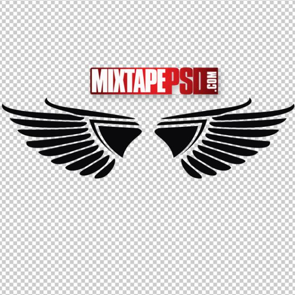 Vector Angel Wings Logo 5