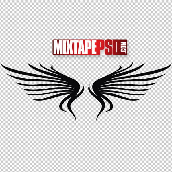 Vector Angel Wings Logo 6