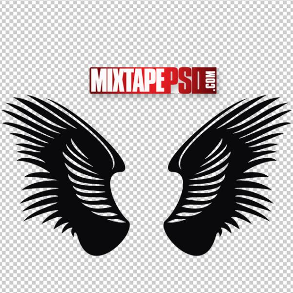 Vector Angel Wings Logo 9