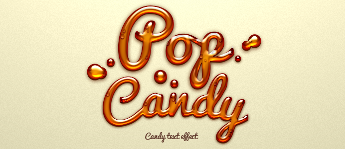 Free Pop Candy Text Effect