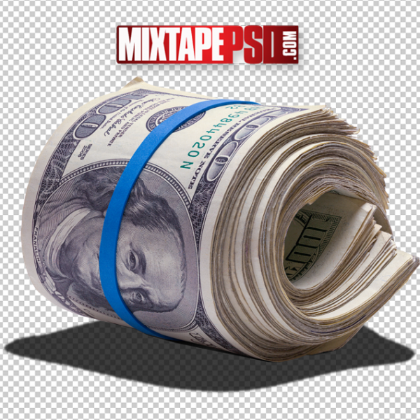 HD Money Roll PNG