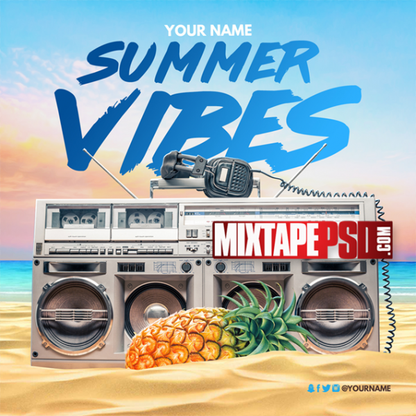 Mixtape Cover Template Summer Vibes 2, Mixtape PSD Free, Album Covers, Graphic Design, Graphic Designer, How to Make a Mixtape Cover, Mixtape, Mixtape cover Maker, Mixtape Cover Templates, Mixtape Covers, Mixtape Designer, Mixtape Designs, Mixtape PSD, Mixtape Templates, Mixtapepsd, Mixtapes, Premade Mixtape Covers, Premade Single Covers, PSD Mixtape, free mixtape cover psd templates