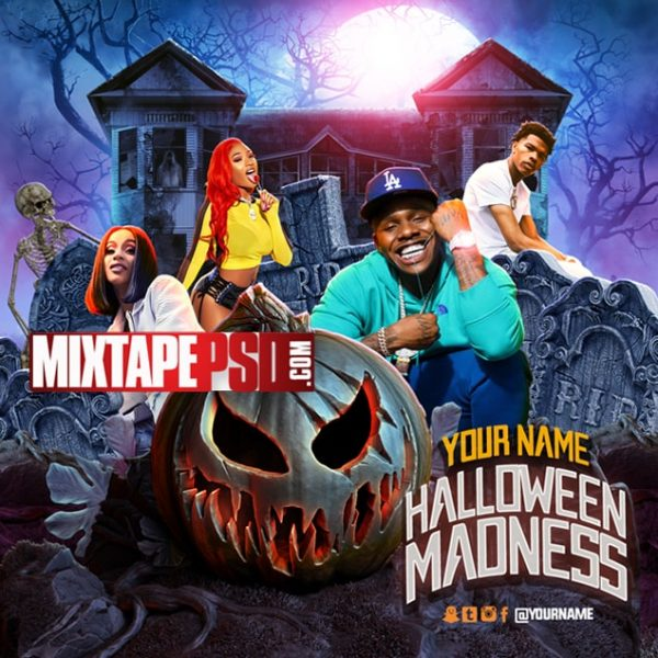 Mixtape Cover Template Halloween Madness, Album Covers, Graphic Design, Graphic Designer, How to Make a Mixtape Cover, Mixtape, Mixtape cover Maker, Mixtape Cover Templates, Mixtape Covers, Mixtape Designer, Mixtape Designs, Mixtape PSD, Mixtape Templates, Mixtapepsd, Mixtapes, Premade Mixtape Covers, Premade Single Covers, PSD Mixtape, free mixtape cover psd templates