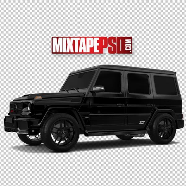 All Black Mercedes Benz Truck