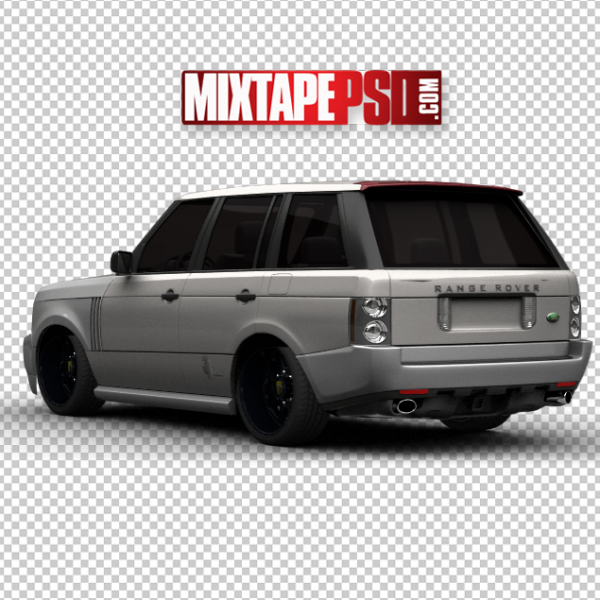 Grey Black Range Rover 2