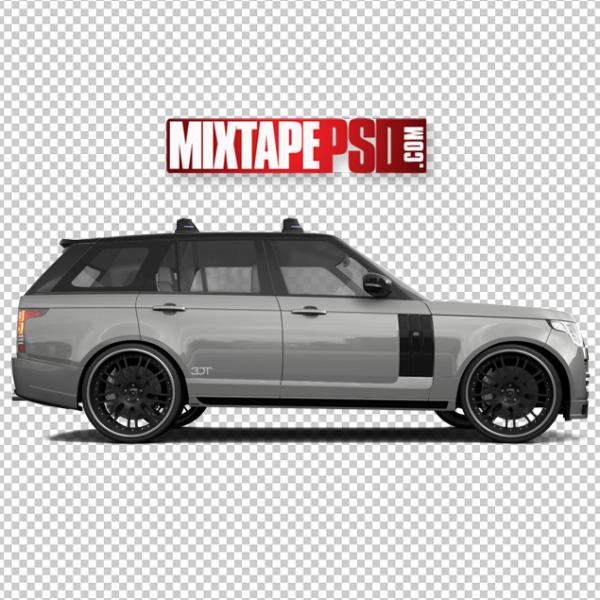 Grey Black Range Rover