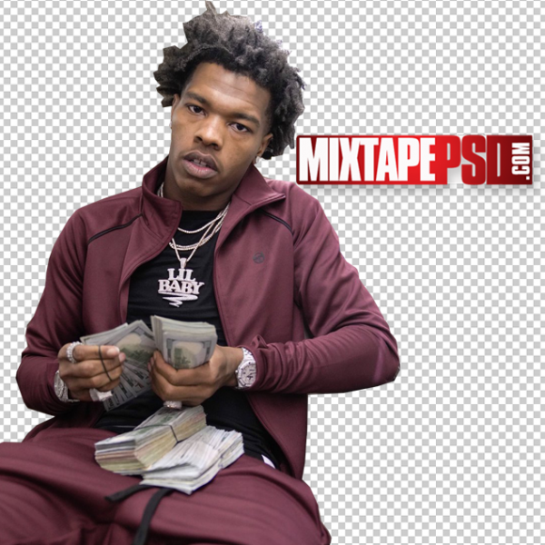 Lil Baby Cut PNG 3