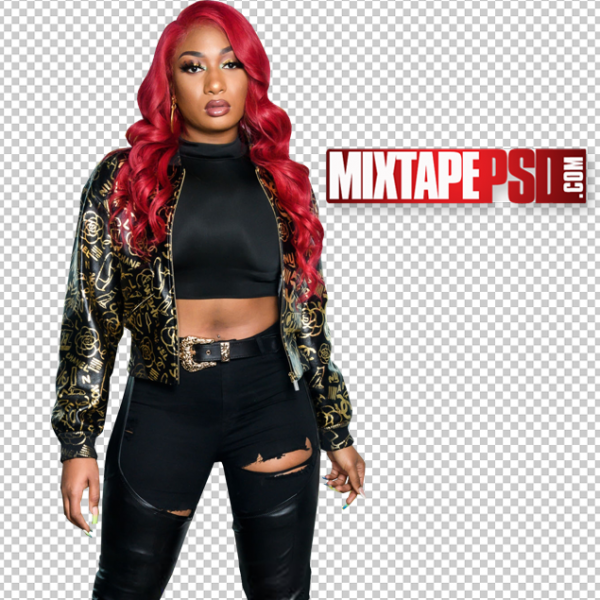 Megan Thee Stallion Cut PNG