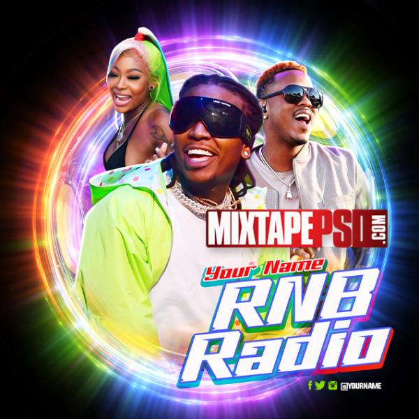 Mixtape Cover Template RNB Radio 48