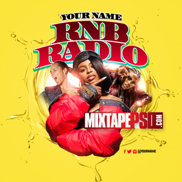 Mixtape Cover Template RNB Radio 49