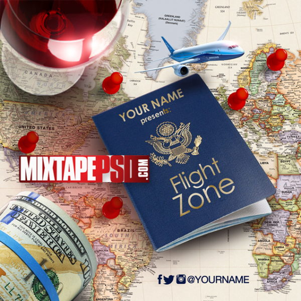 Mixtape Template Flight Zone 4