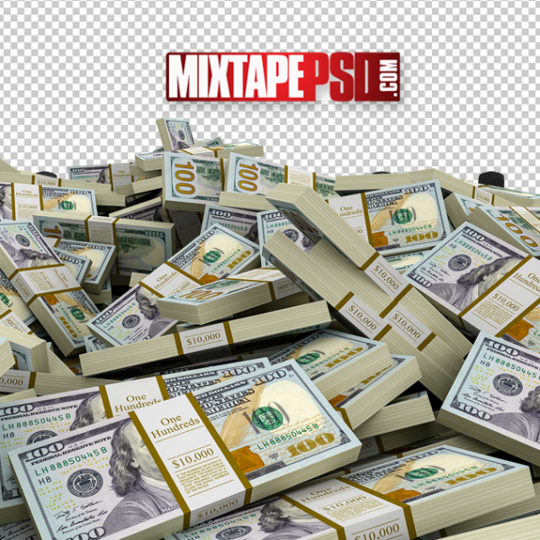 Stacks of New Money