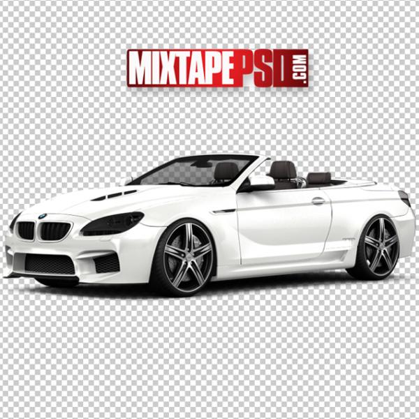 White BMW Convertible
