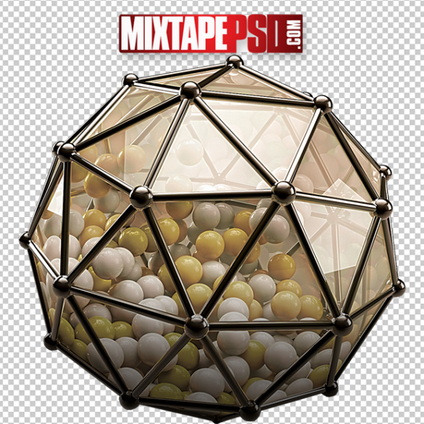 3D New Years Ball
