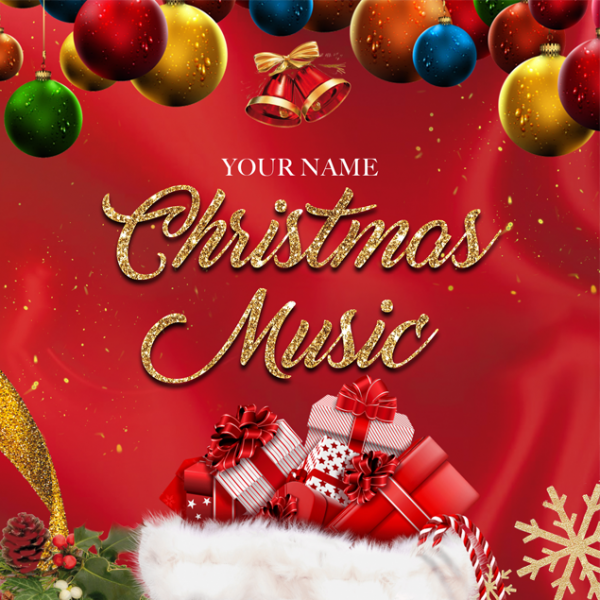 Free Christmas Music Mixtape Template