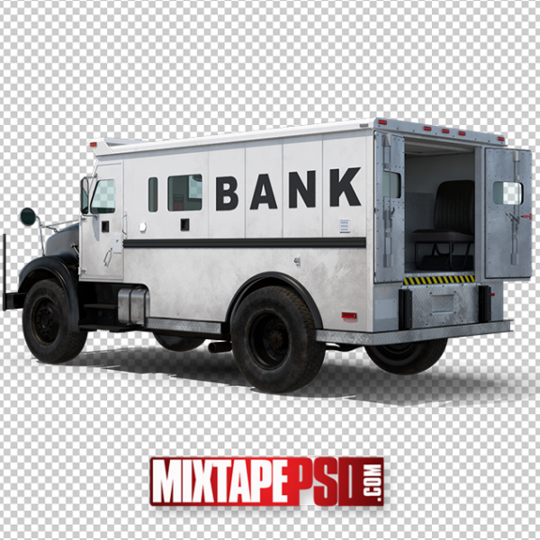 HD Armored Truck PNG