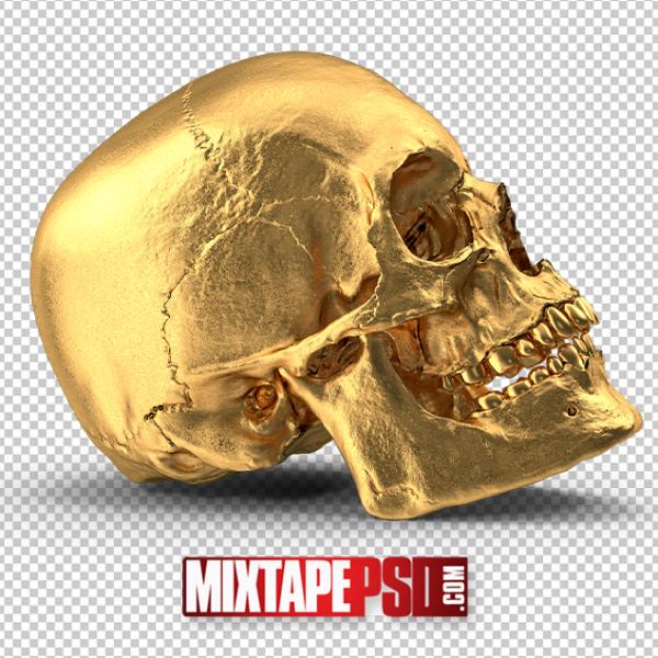 HD Gold Skull 2