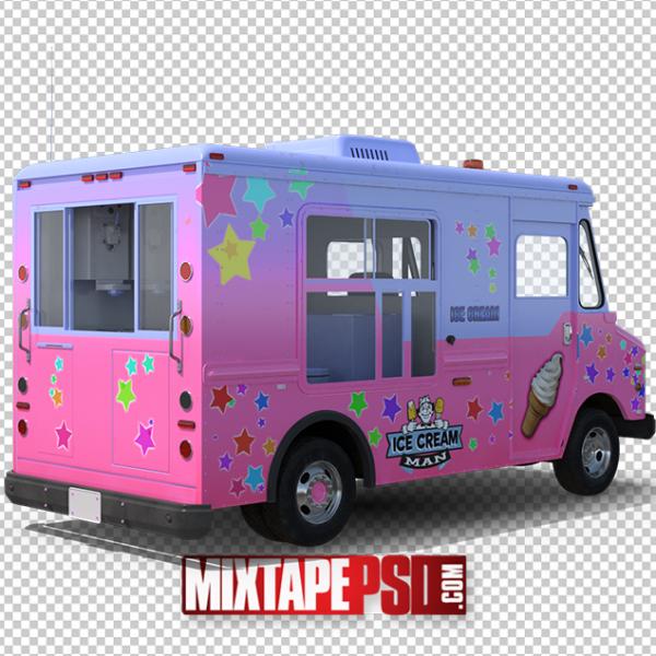 HD Ice Cream Truck PNG