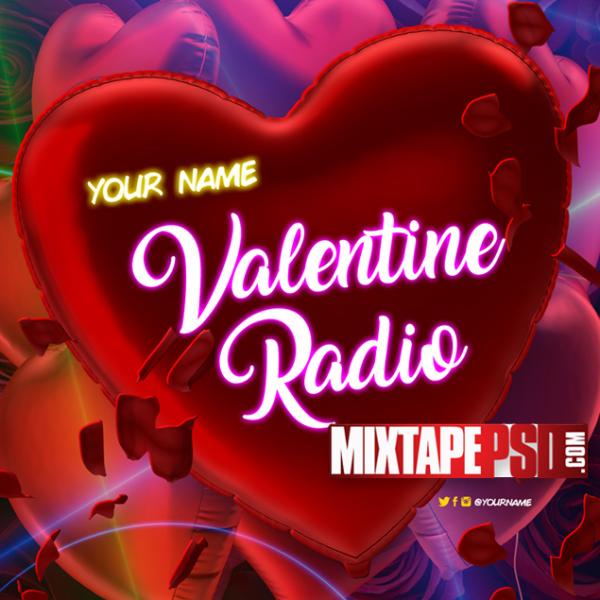 Mixtape Cover Template Valentine Radio