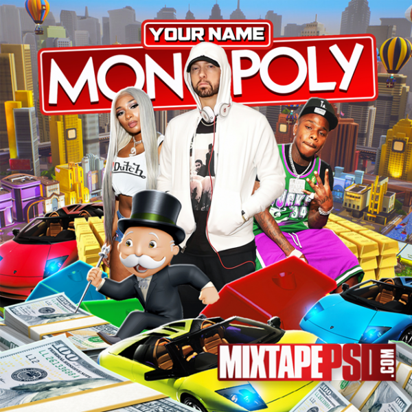 Mixtape Cover Monopoly Template, Album Covers, Graphic Design, Graphic Designer, How to Make a Mixtape Cover, Mixtape, Mixtape cover Maker, Mixtape Cover Templates, Mixtape Covers, Mixtape Designer, Mixtape Designs, Mixtape PSD, Mixtape Templates, Mixtapepsd, Mixtapes, Premade Mixtape Covers, Premade Single Covers, PSD Mixtape, free mixtape cover psd templates