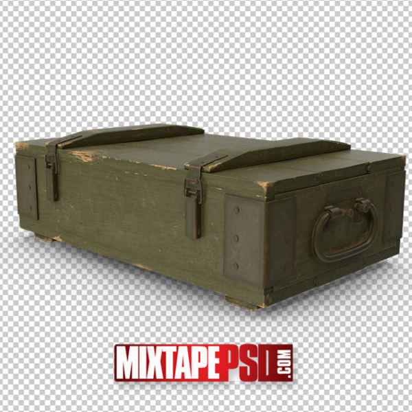 HD Ammo Crate PNG