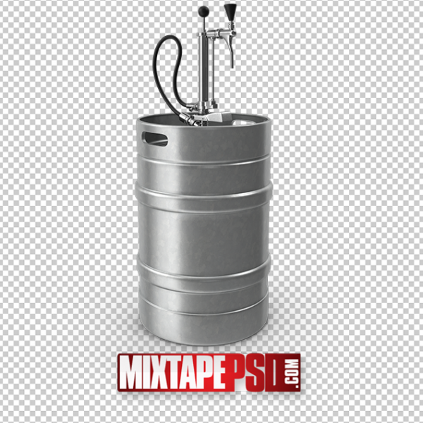 HD Beer Keg PNG