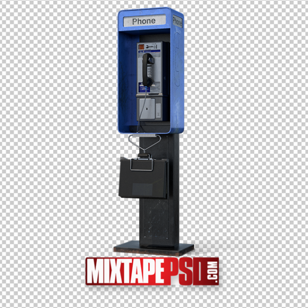 HD Dirty Public Pay Phone PNG