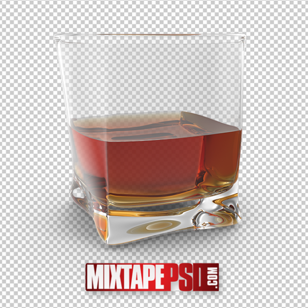 HD Glass of Whiskey PNG