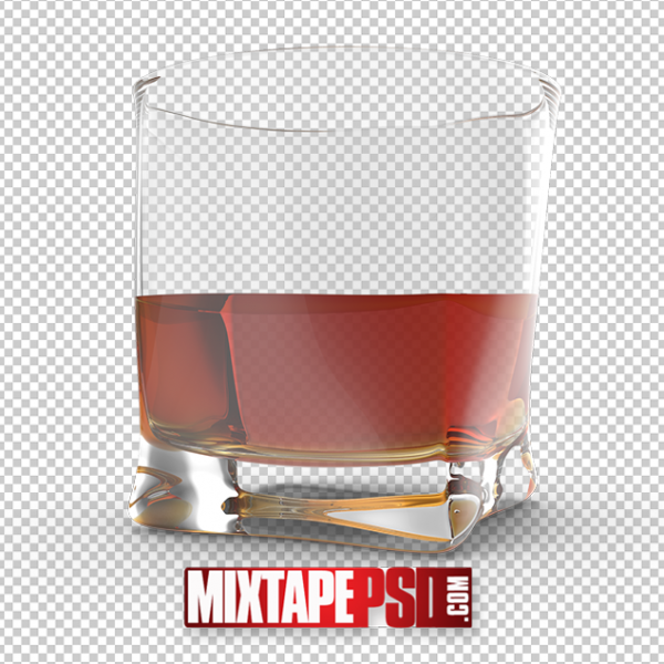 HD Glass of Whiskey PNG 2