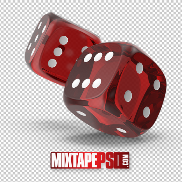 HD Red Rolling Dice