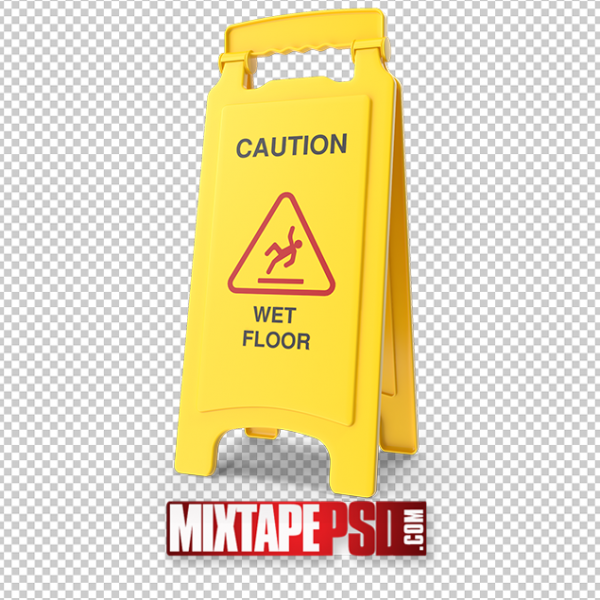 HD Wet Floor Safety Sign